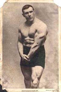 Oder Georg Hackenschmidt - Gewichtheber und Weltmeister im Ringen. Während ihrer aktiven Zeit gab es noch keine wirksamen Dopingmittel!