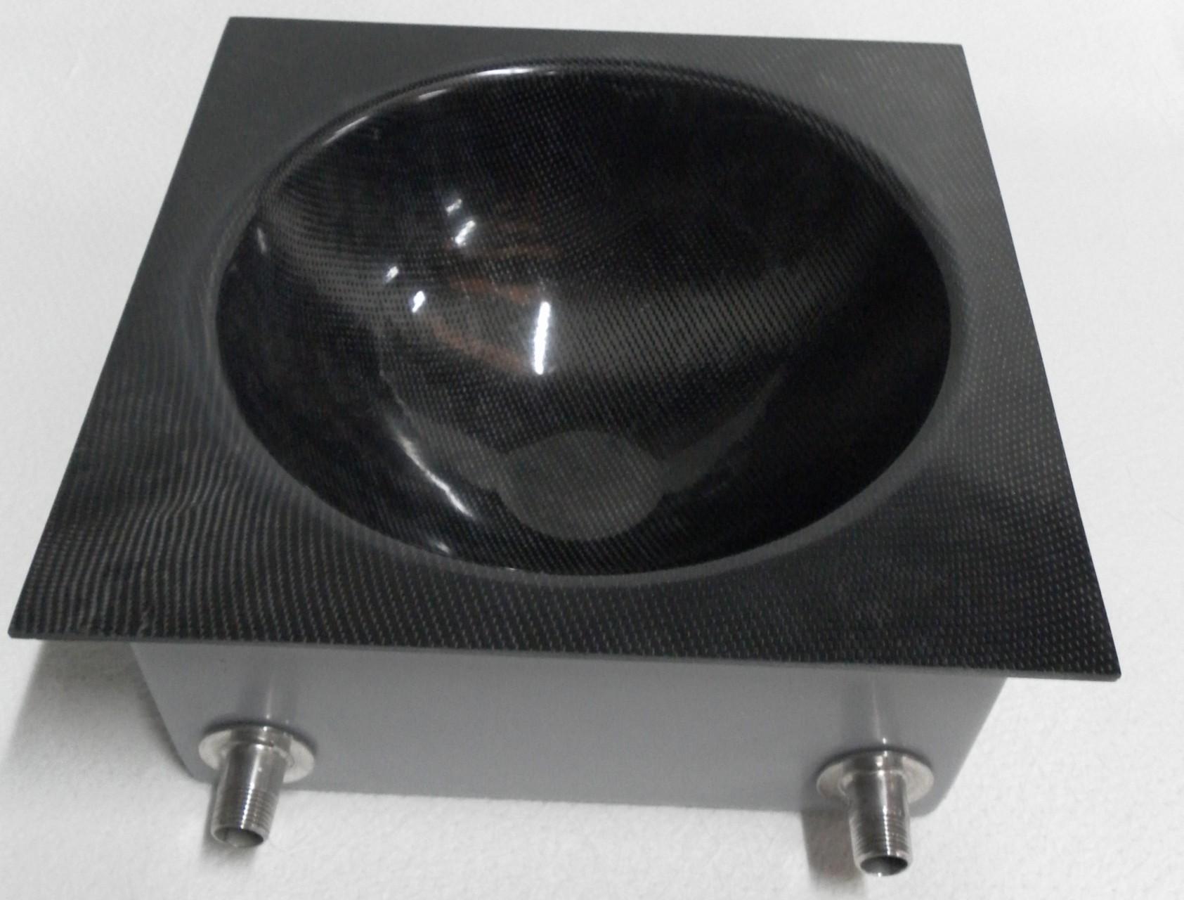 Saladier réfrigéré composite verre-carbone