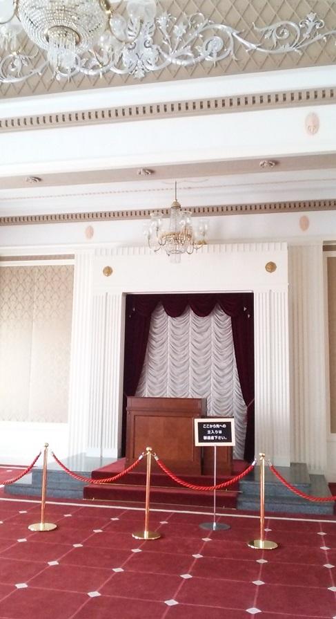 栃木県庁 旧庁舎-貴賓室