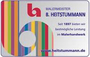 Malermeister Heitstummann