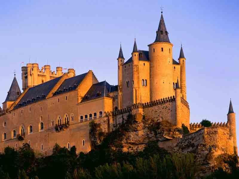 Segovia's Alcazar