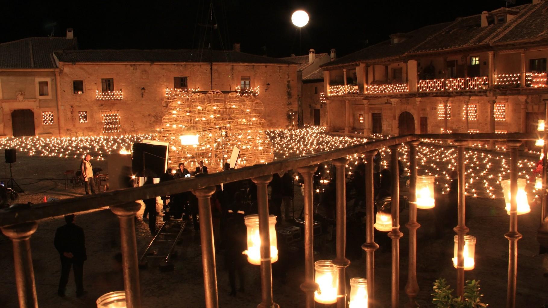 Medieval village of Pedraza in Segovia