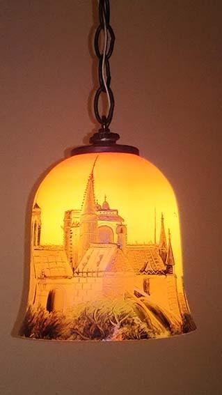 ランプ風の照明
