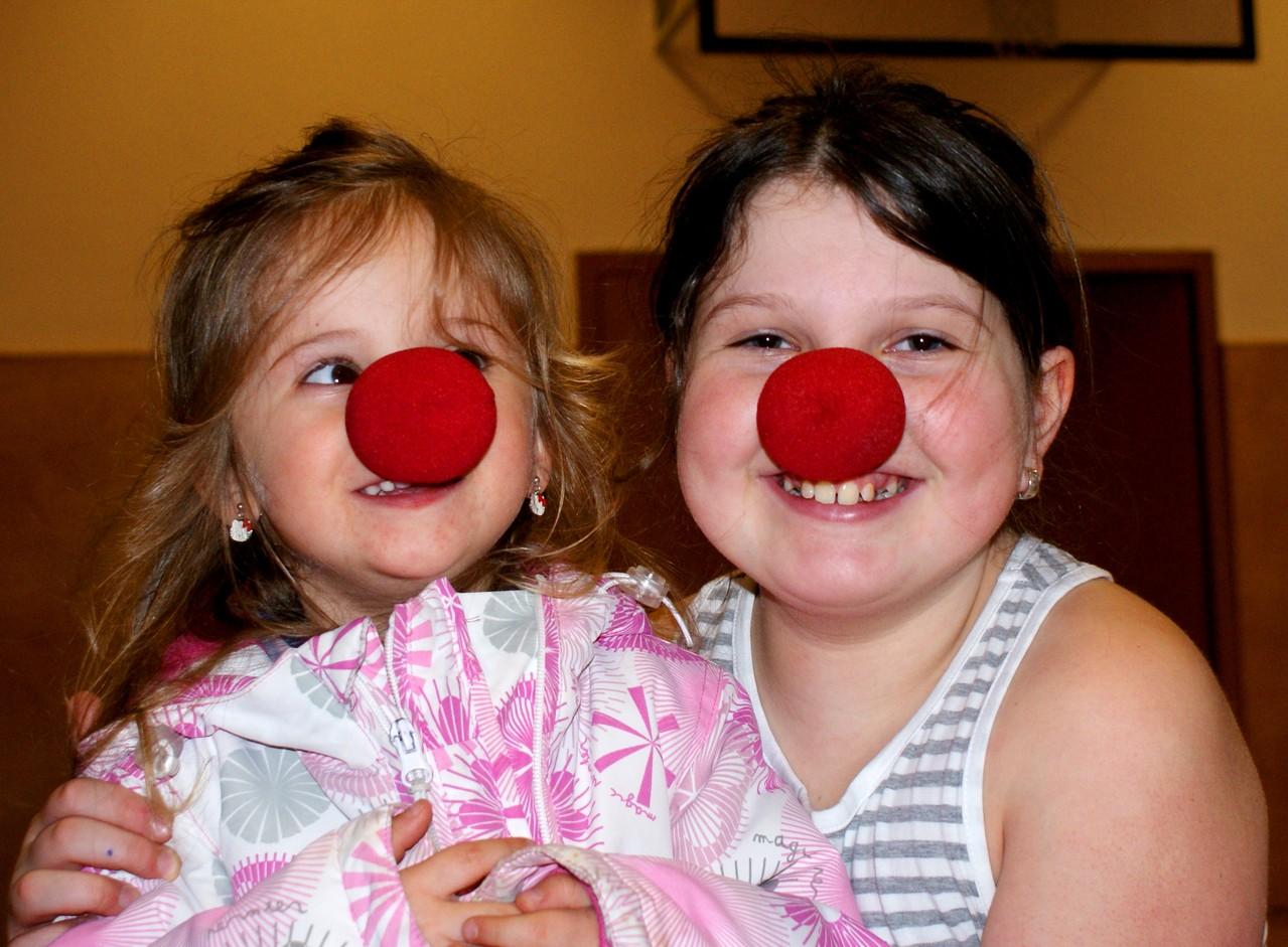 Clown Kinder beim MitmachZirkus