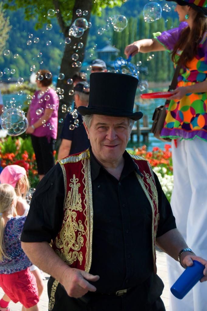 Roberto als Zirkusdirektor beim Mit mach Zirkus