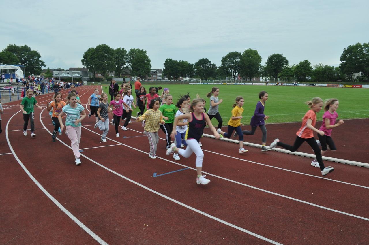 Der 800m-Lauf