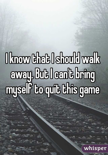 Days I Want To Quit And Walk Away