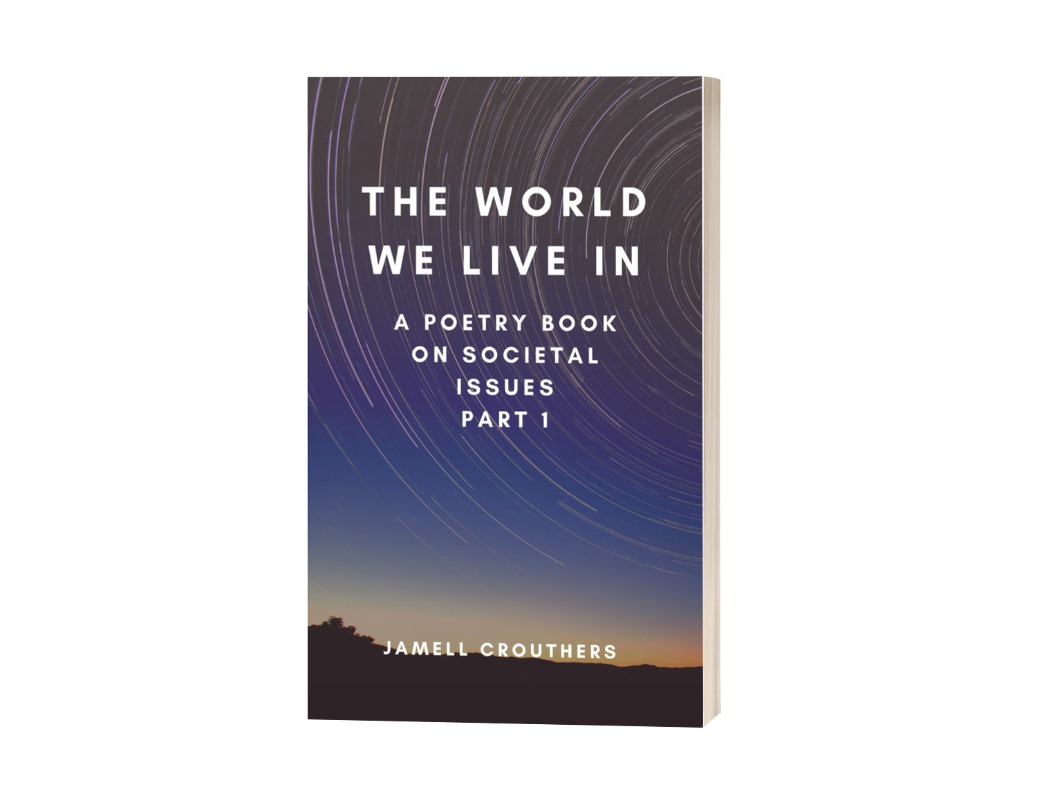 The World We Live In is a book series that deals with various social issues from alcohol addiction to drug addiction, domestic violence and other major social issues that impact us daily.