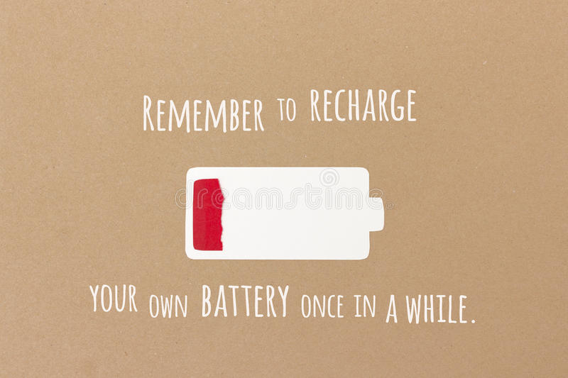 Clearing Your Mind and Recharging Your Battery