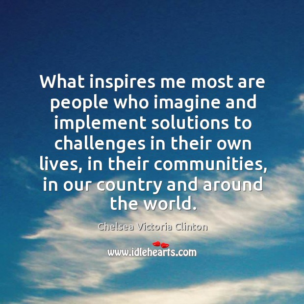 The World Inspires Me Daily