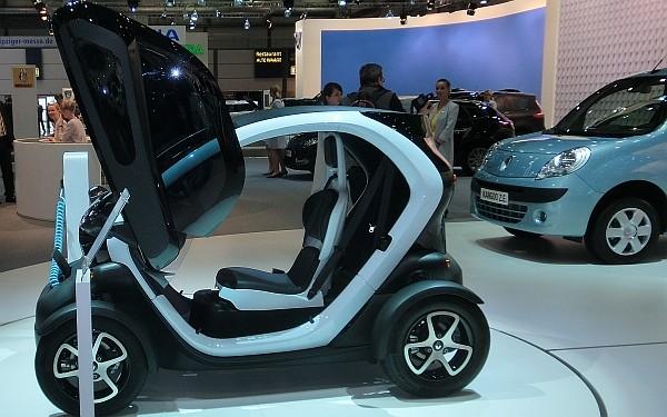 Renault Twitzy mit Seitenfenster