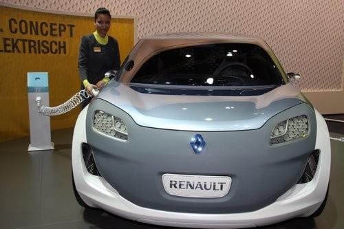Renault Z.E. ZOE Concept Car in Leipzig