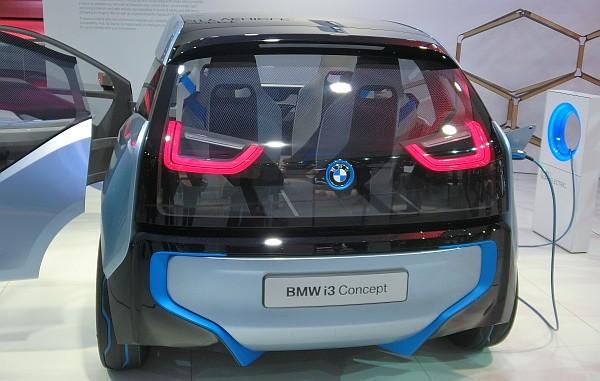 Elektroauto BMW i3 concept