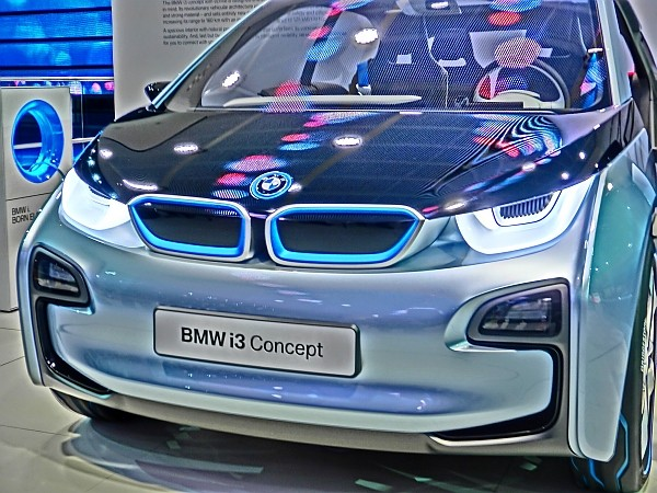Elektroauto von BMW, der BMW i3
