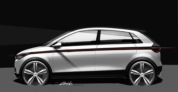Audi A2 concept  Bild: Audi AG