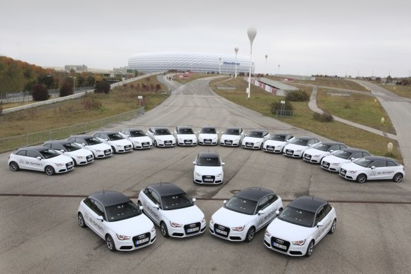 Audi A1 e-tron in Muenchen