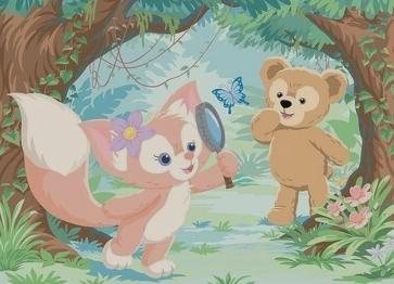 ダッフィー&フレンズの新キャラクター「リーナ・ベル」がお披露目 謎解きが大好きなキツネの女の子