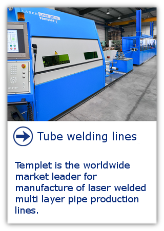 Multi layer pipe production line