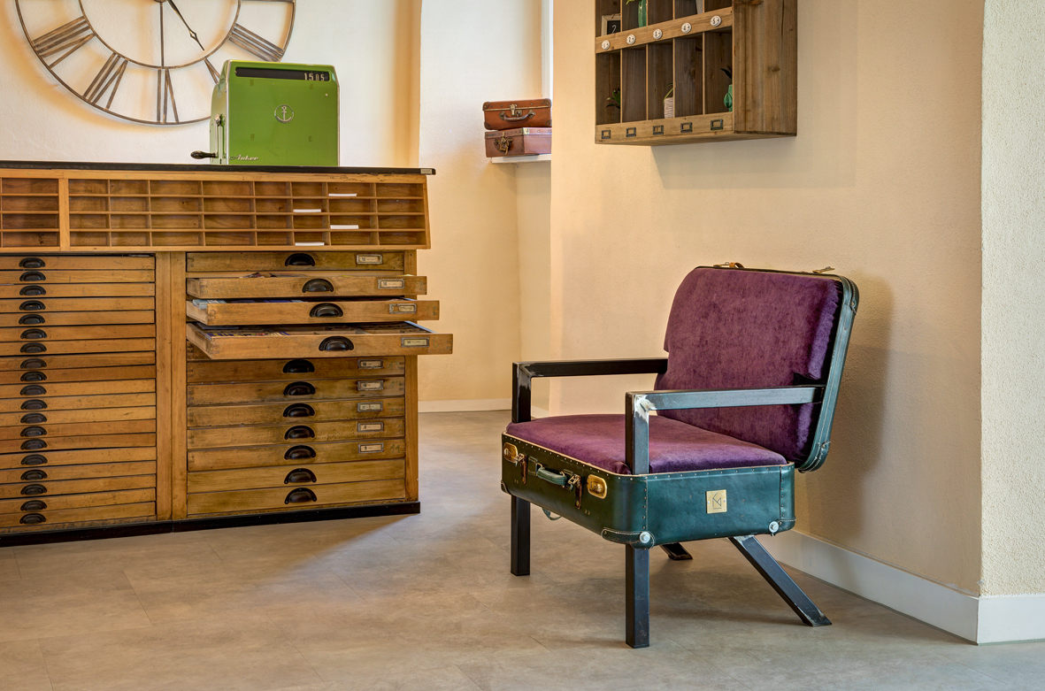 Koffersessel #nr5 - Green Spirit Hotel - Regensburg