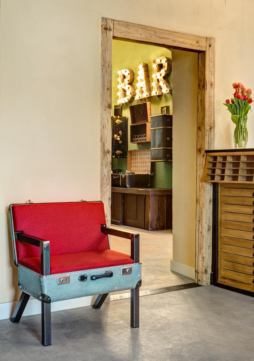 Koffersessel #nr9 - Green Spirit Hotel - Regensburg