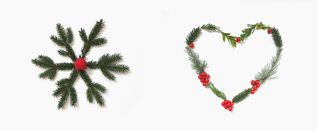 xmas hygge nordic denmark green nature materials gift wrapping geschenkeverpacken geschenk gift box red green xmas christmas weihnachten