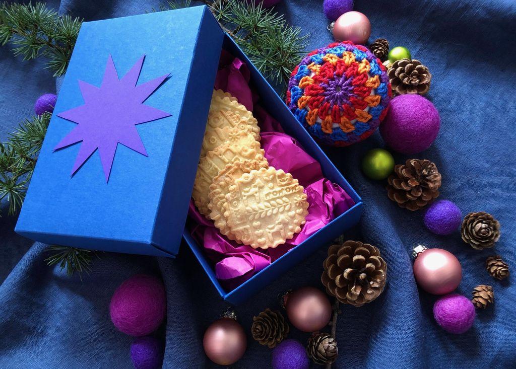 reliefni valjar valjar z vzorcem škatla za kekse škatla za piškote