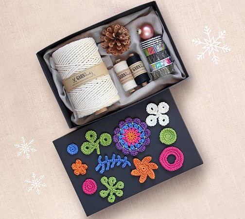 flow magazine gift wrapping buntbox garndundmehr kvačkanje crochet paper book for paper lovers häkeln geschenkeverpacken weihnachten zavijanje daril xmas x-mas christmas inspiration inspiracije