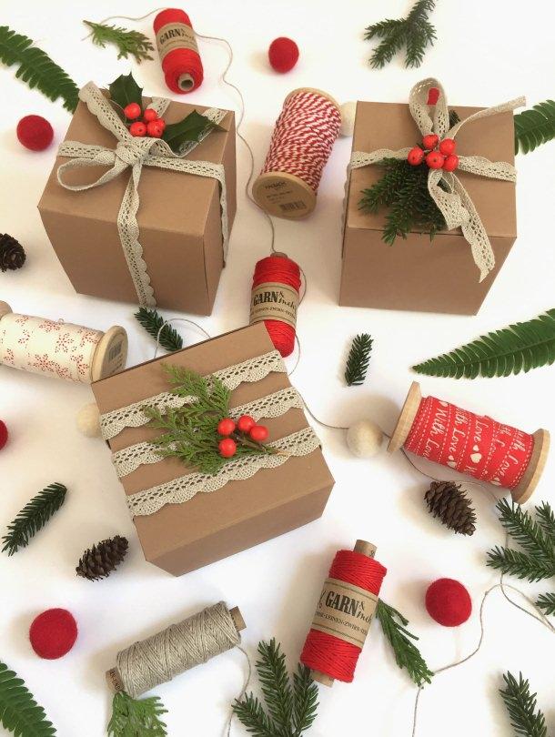 Fridolina hygge perlenfischer stempel zig stampiljka geschenkeverpacken giftbox giftwrapping xmas x-mas weihnachten fridolina.si