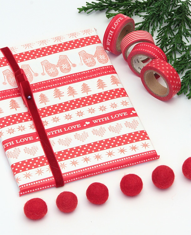 fridolina fridolina.si engry&sif zwerge adventskalender xmas christmas weihnachten gift wrapping geschenkeverpacken calendar red white pompon dworf