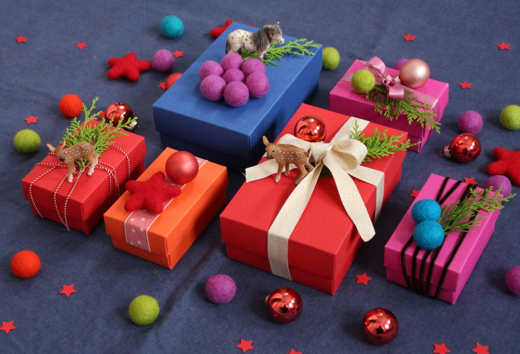 xmas christmas buntbox box gift wrapping gift box inspiracije inspiration decoration dekoration weihnachten