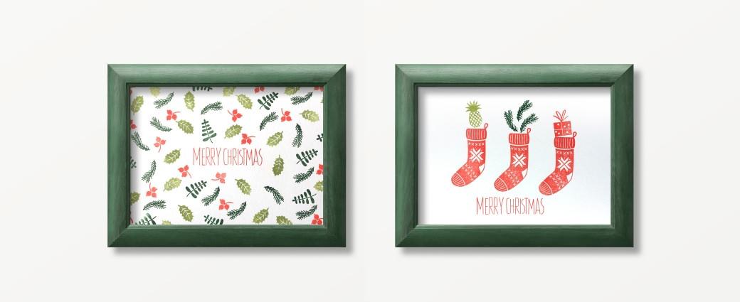 xmas christmas božič prazniki holidays gift wrapping stempel rubber stamps weihnachten merry christmas diy voščilo žig
