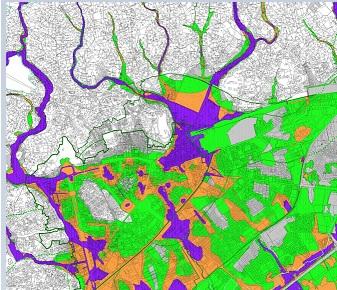 Cartographie des zones inondables en milieu urbain