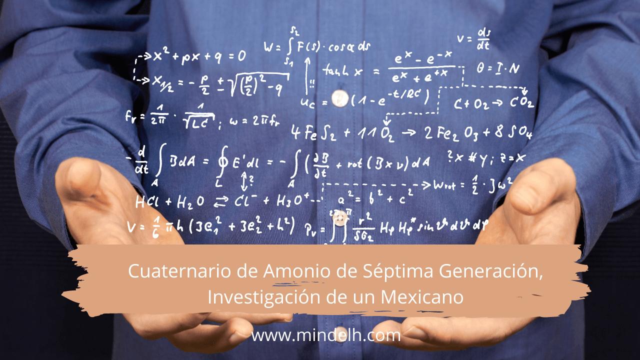 Cuaternario de Séptima Generación, Investigación de un Mexicano