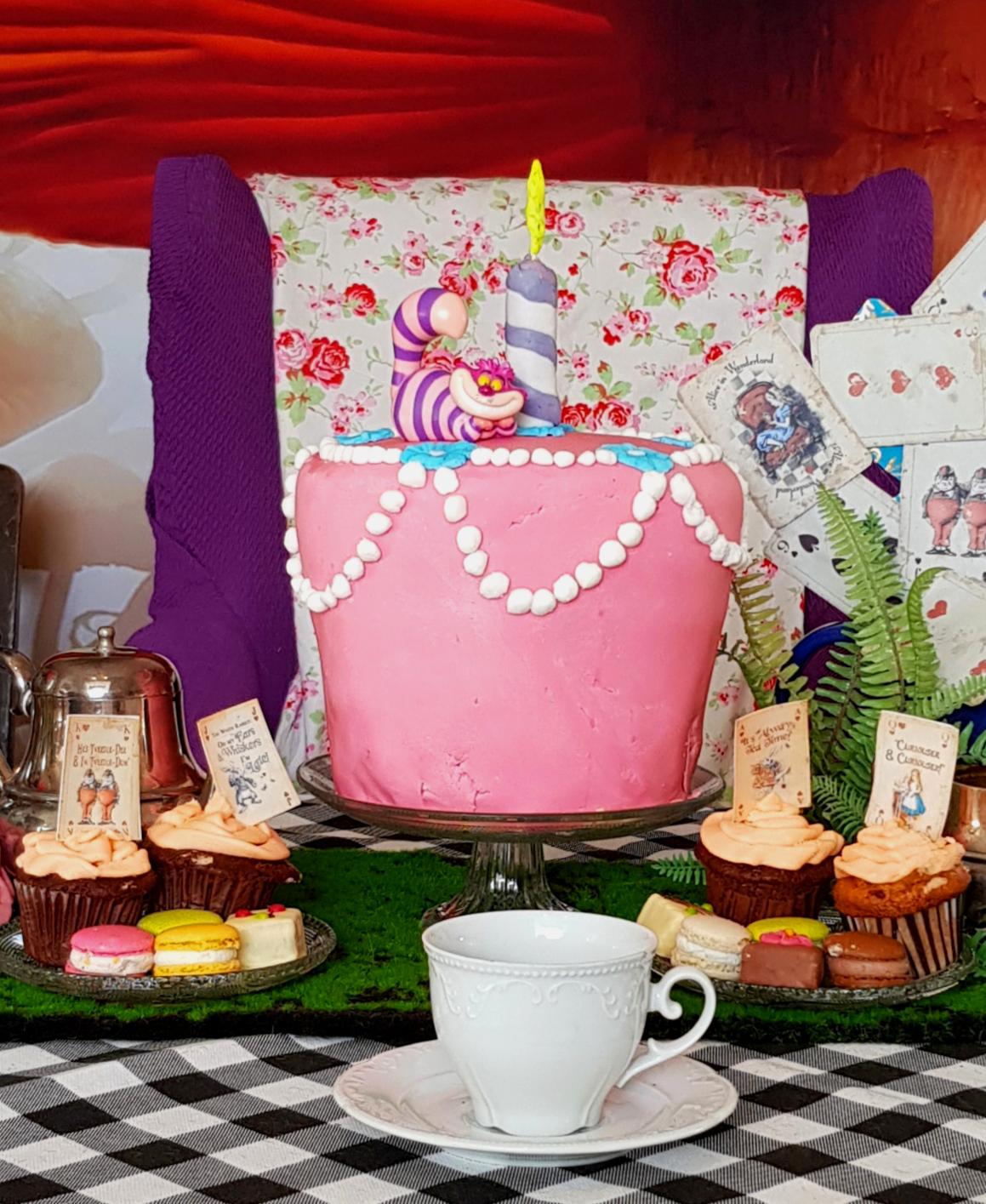 Die Unbirthday Cake Challenge