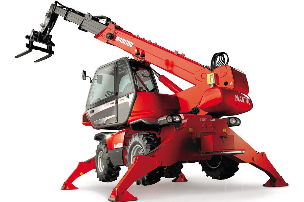 Chariot Télescopique Rotatif 18m à 25m