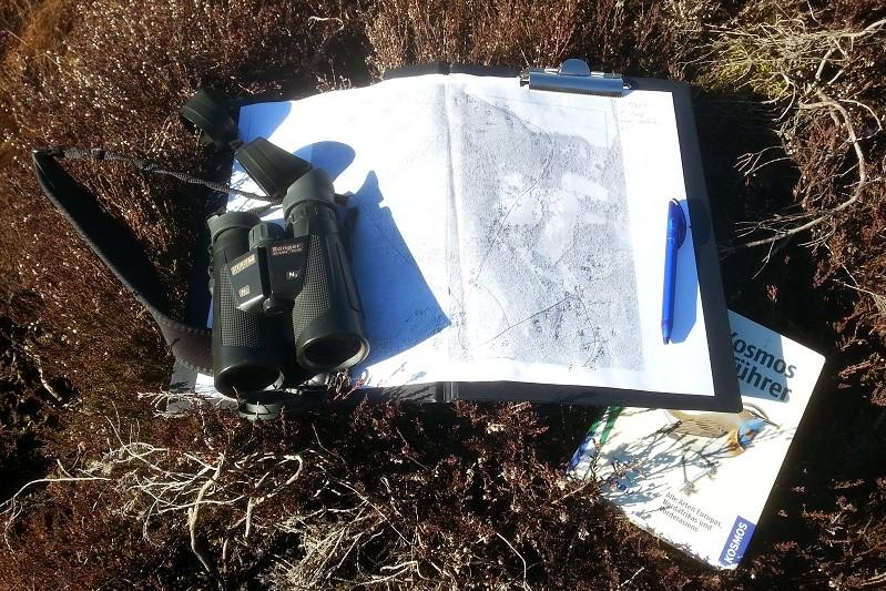ASO: Feldausrüstung für das Monitoring häufiger Brutvögel