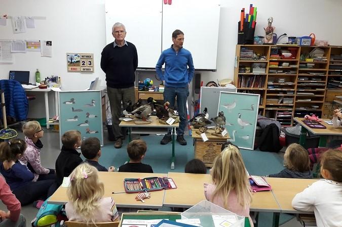 Umweltbildung: Schulstunde über Vögel