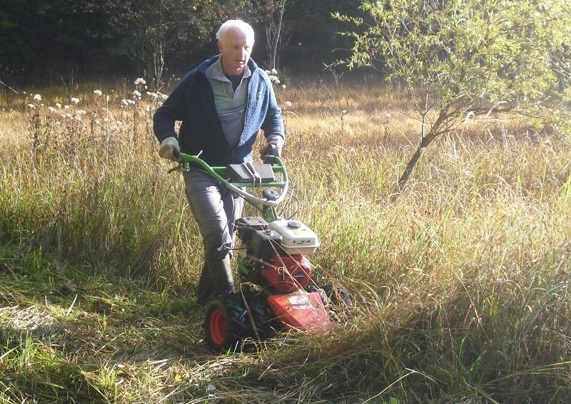 Landschaftspflege mit dem Balkenmäher