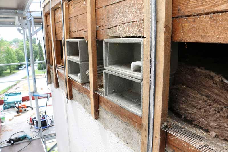 Vogelschutz: Nistkästen für Mauersegler