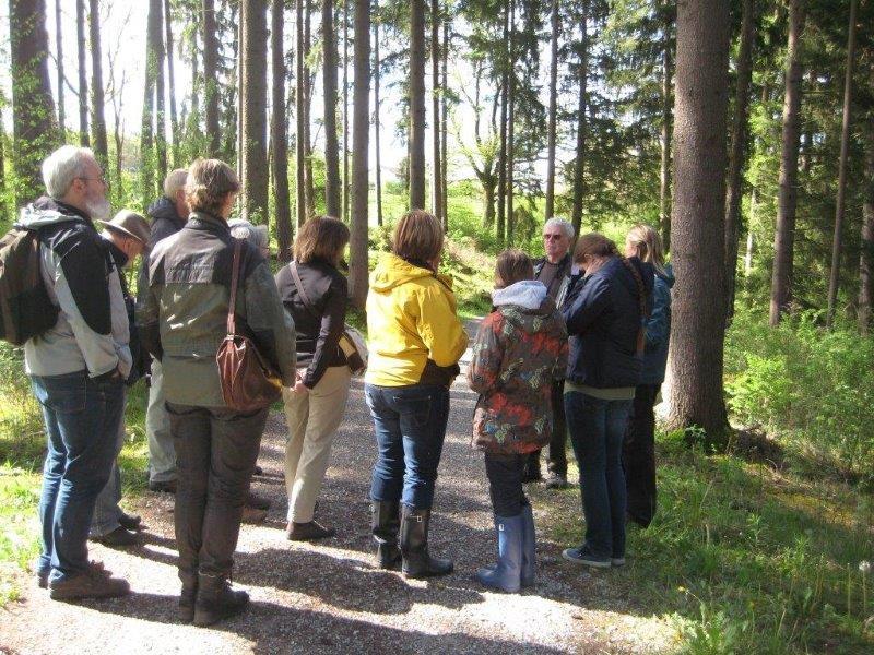 Exkursion im Leutstettener Moos (Foto: Alexandra Szalata)
