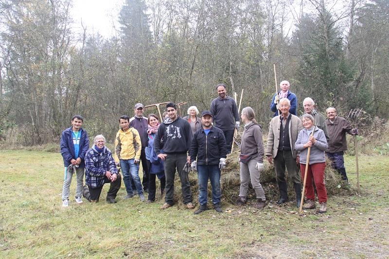 Landschaftspflege: Intermnationaler Arbeitseinsatz im ehem. Pioniergelände Krailing