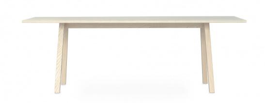 Massivholzmöbel Tossa Möbeldesign Tisch freigestellt weiss