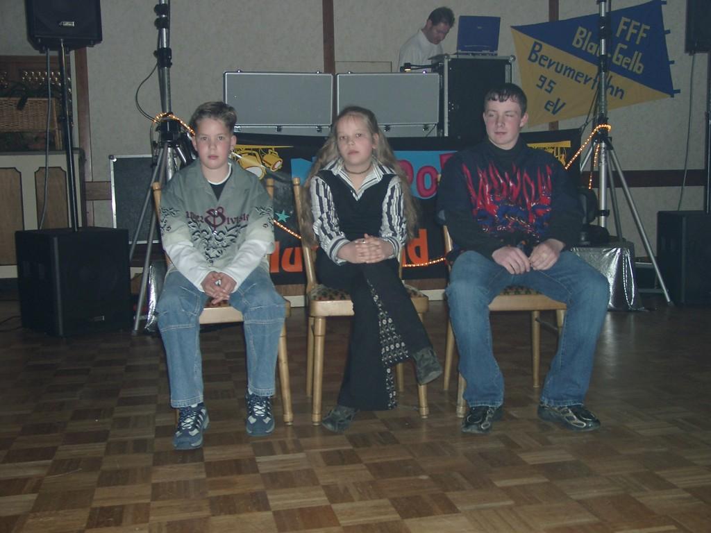 Die jüngsten dem Verein 10 Jahre angehörenden Mitglieder
