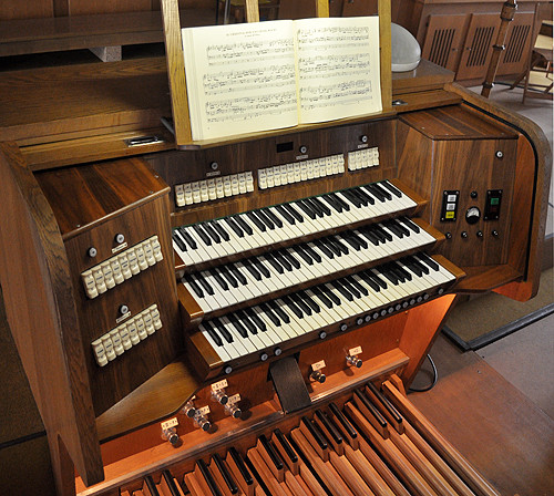 Orgel Spieltisch Altstätten