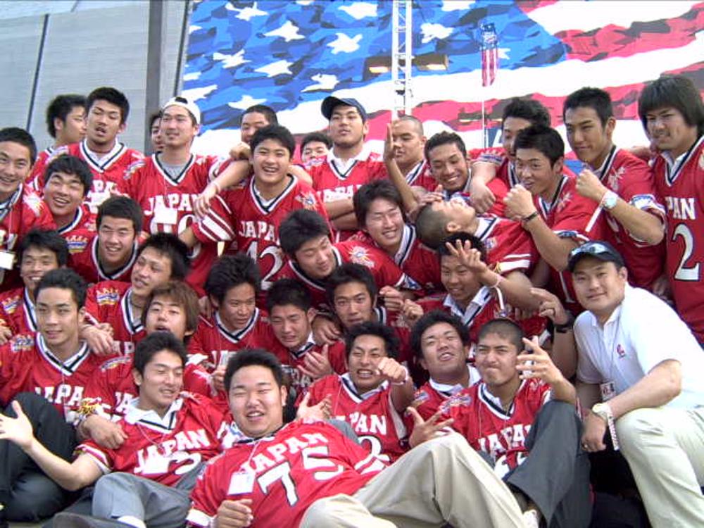 2002年のU-19アメリカンフットボール日本代表チームのヘッドトレーナーとして