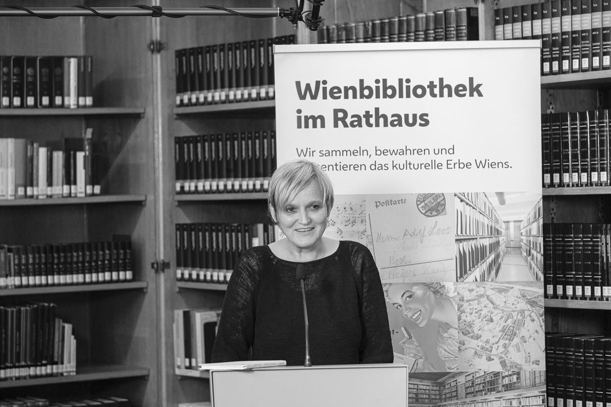 Dr. Anita Eichinger, MA (Leiterin der Wienbibliothek)