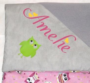 personalisierte Decke