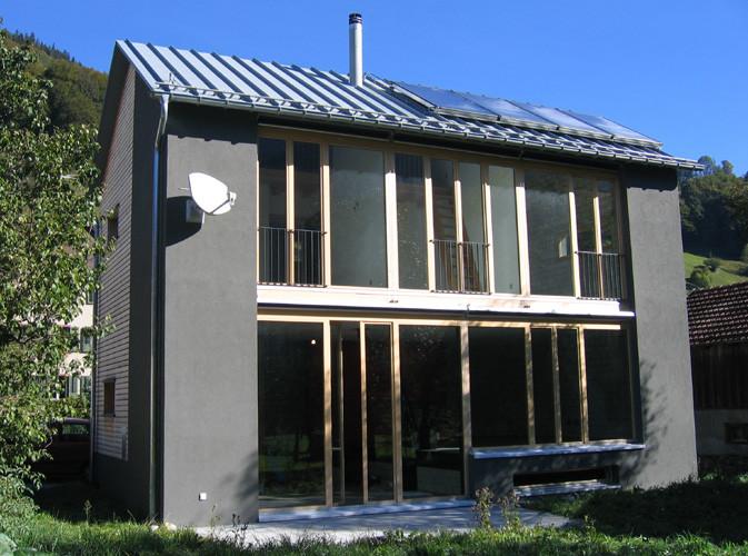 Neubau EFH Grüsch GR