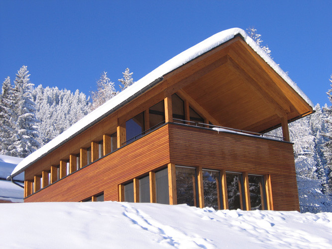 Neubau Ferienhaus Brambrüesch GR
