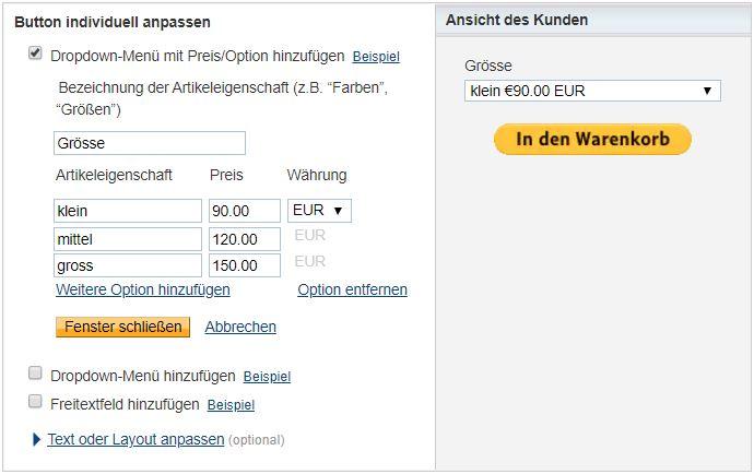 Kostenloser Onlineshop - Anleitung Bild 5